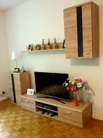 Spacious room near Basel centre - Basileia - Apartamento
