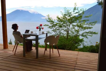 Artist's loft (lakefront@view) - San Marcos La Laguna - 一軒家