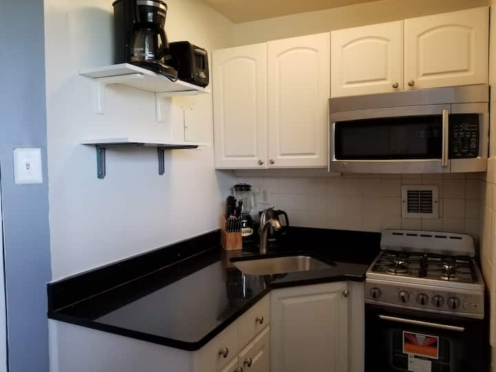Junior 1BR Overlooking Arlington