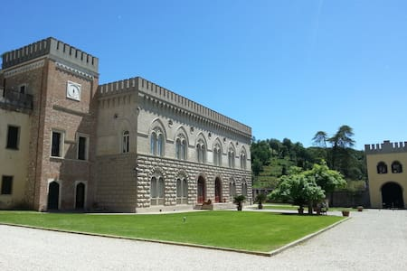 Ancient Castle with heated pool - Monselice - Kastil