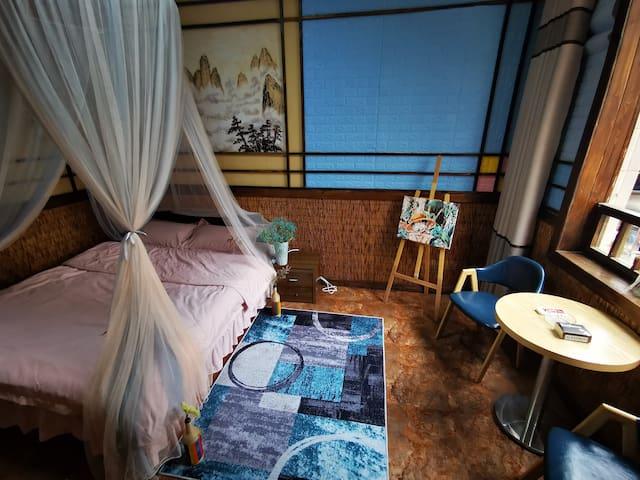【小俊家】市区标准大床房3-3