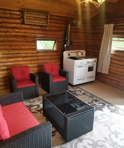 Rustic Cabin at Delaronde Resort - Cabin #5