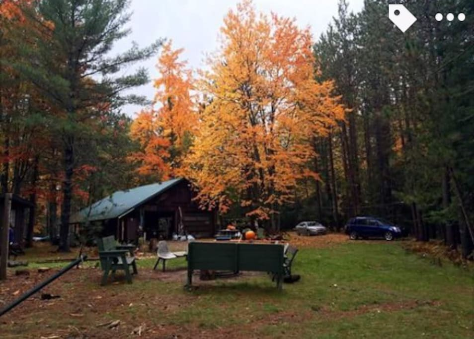 Cabins 10ft From The Ausable River Cabins For Rent In