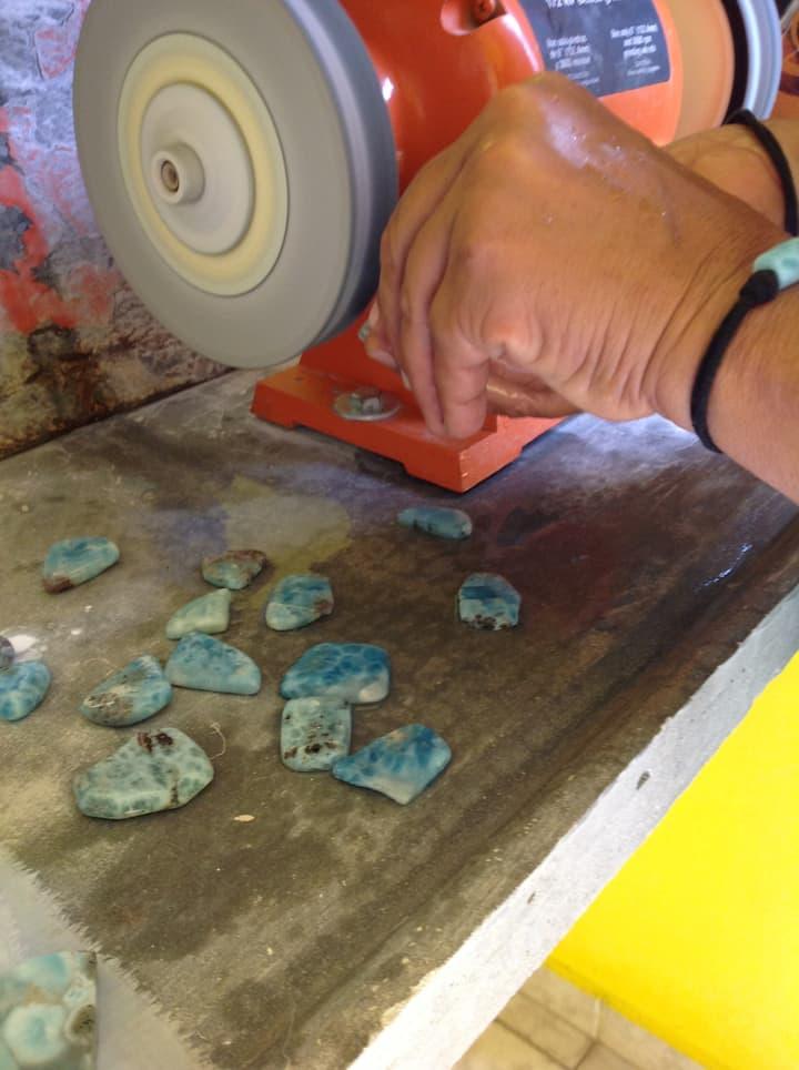 tallando la piedra