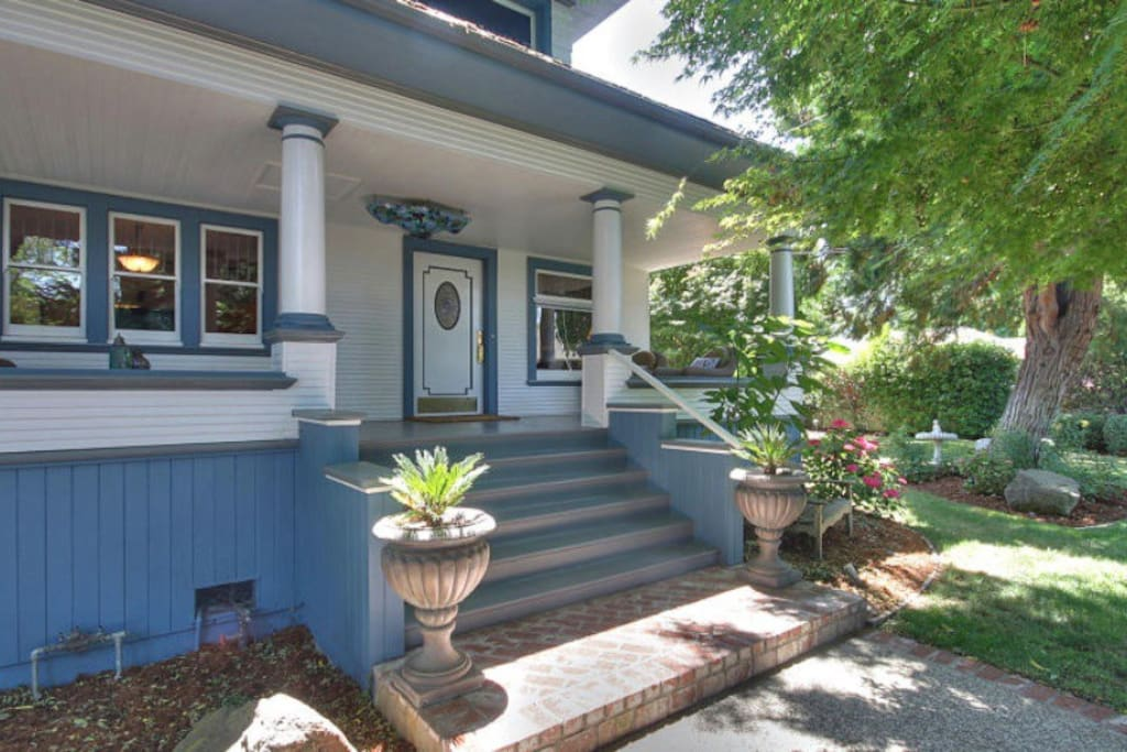 Full use of house with beautiful front porch with swing