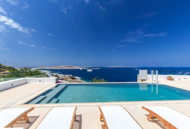 Villa Yasmina-Perfect in Mykonos with private pool
