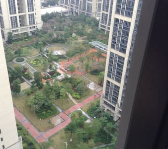 广州新白云国际机场附近花园单房 - กวางโจว