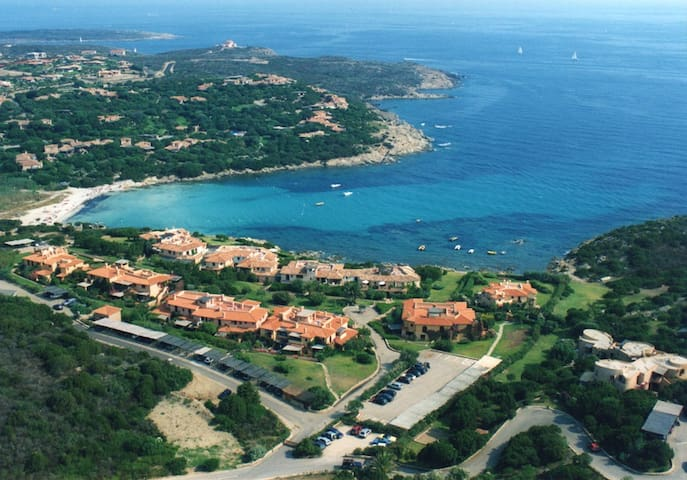 Apartment on the beach  in Sardinia Cala Granu