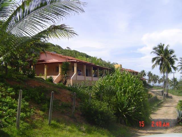 Casa em bela praia do litoral sul da Paraíba