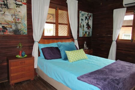 Center of Town! Queen Suite w/Balcony & A/C! - Bocas del Toro Province
