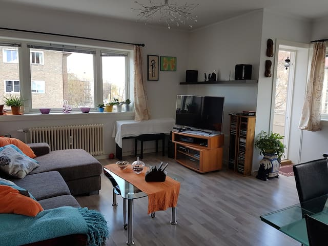 Cozy and central apartment with balcony - Oslo - Apartment