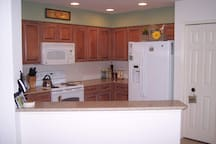 Great Kitchen with Granite and Wood Cabinets