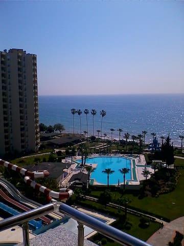 Апартаменты с видом на море - Mersin - Obsługiwany apartament