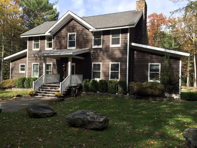 Catskills Farmhouse on 6 acres