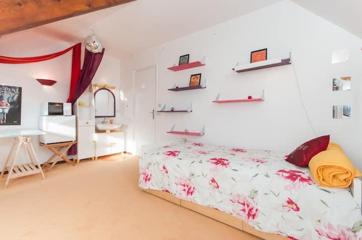 Chambre Maison Grand confort Lyon