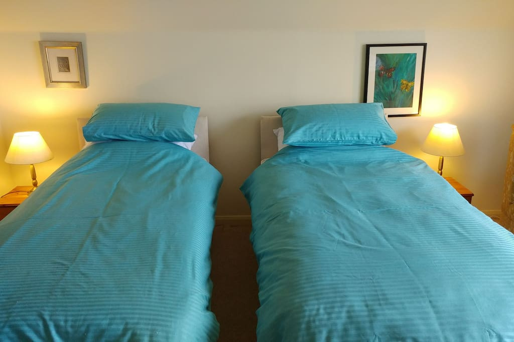 Twin beds available instead of the double.
