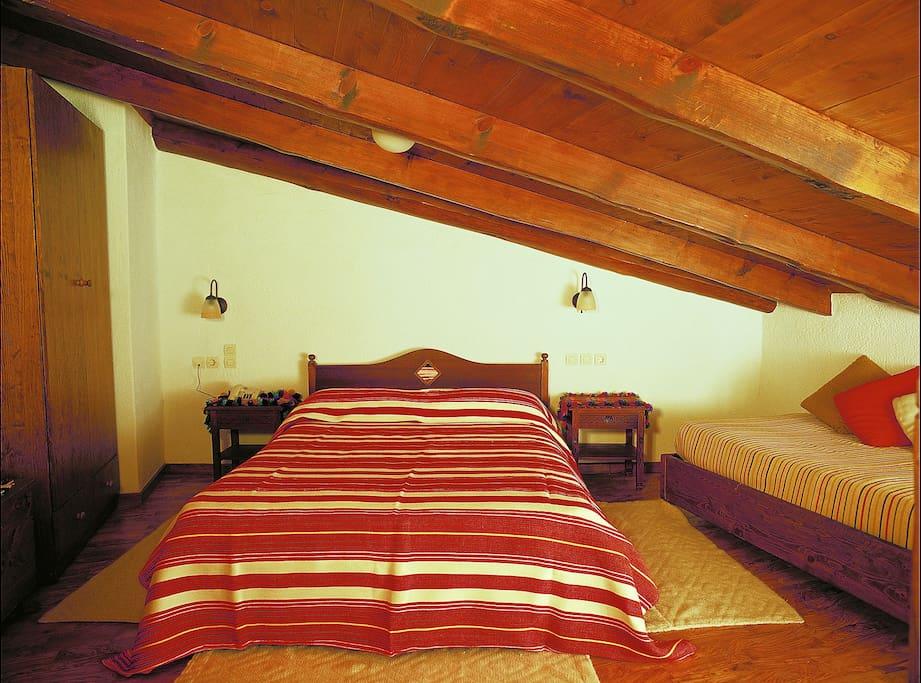 One bedroom apartment bedroom