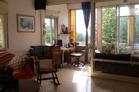 spacious quiet flat in the woods - Haifa - Appartamento