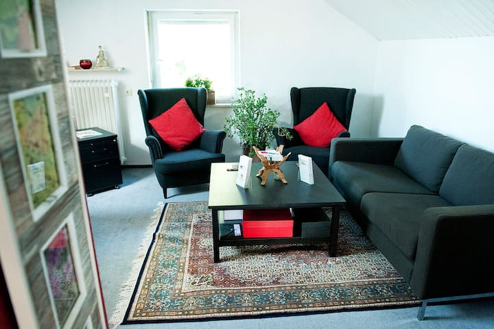 Cozy very nice  2 room apartment - Kitzingen - Daire