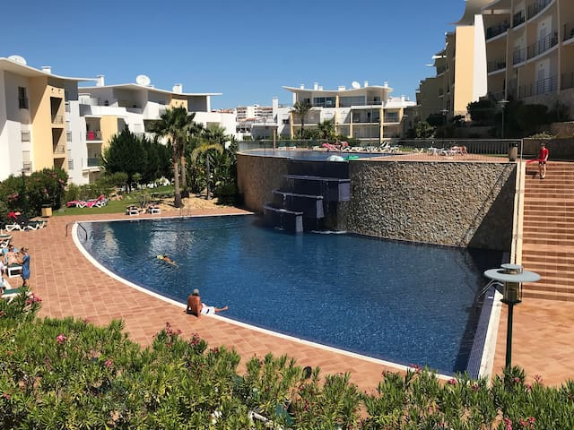 2 fabulous swimming pools. Great sunbathing beds and areas for total relaxation.