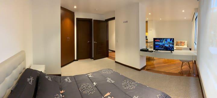Moderna Suite, acogedora con la mejor ubicación