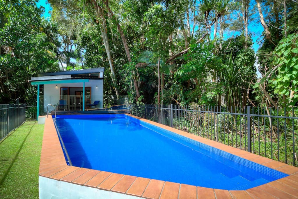 Pool and studio