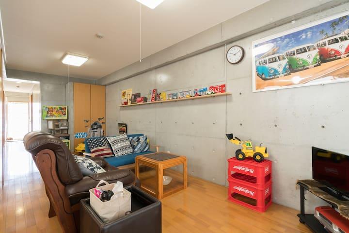 お子様が喜ぶ!プレイルームのあるお部屋☆思い出の沖縄旅に/kids♡ - うるま市 - アパート