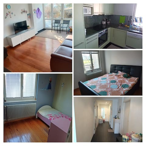 Fully furnished 3 1/2 apartment available imm