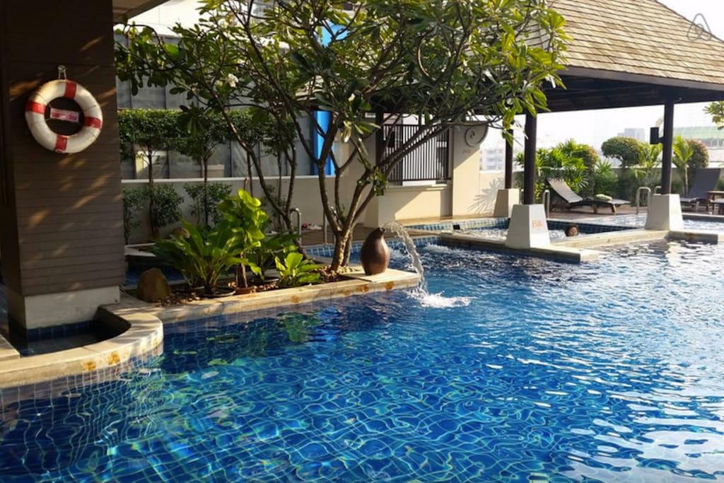 1.5m swimming pool