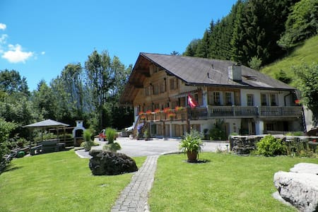 Bed & Breakfast with breathtaking Alp views - Château-d'Œx