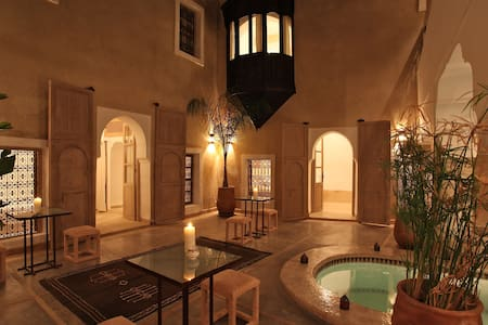 Suite Muscade, Riad BB, jacuzzi - Марракеш