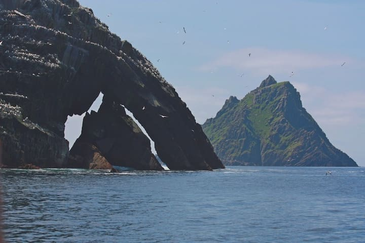 Skellig Ring self catering.