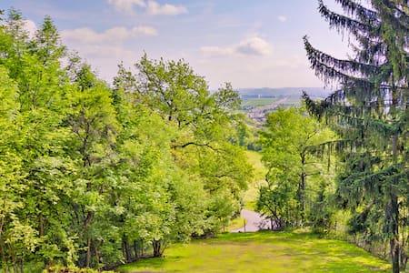 80 qm Haus mit riesigem Garten und mega Aussicht