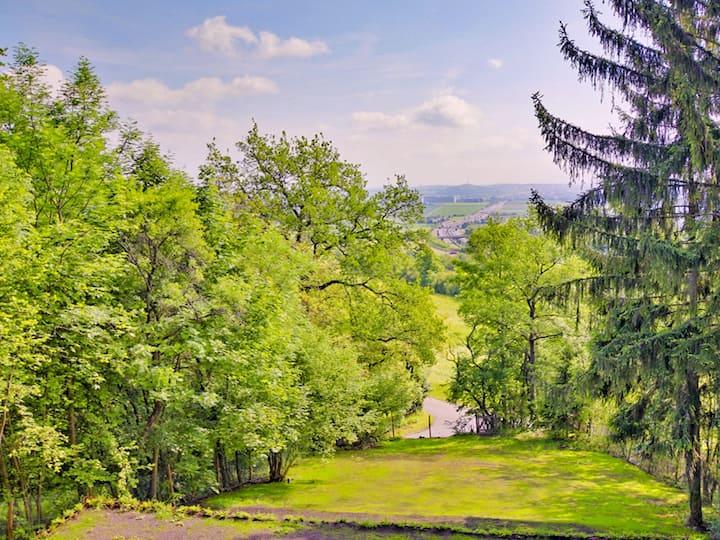 Riesiger Garten mit toller Aussicht für Events