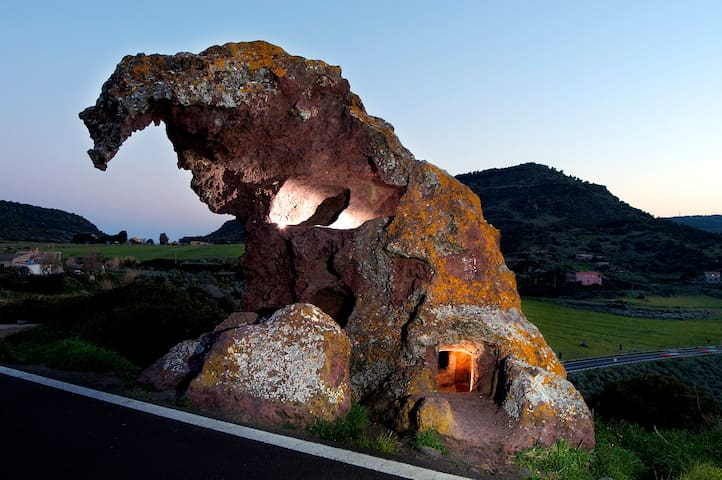 Sa Rocca de s'Elefante - Laerru - Lejlighed