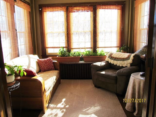 Warm, cozy, and of course, sunny!