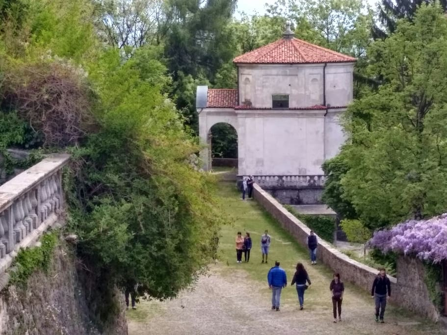 la sesta cappella vista dal balcone