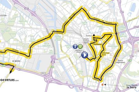 Tour de France +Russian Hospitality - Utrecht - Bed & Breakfast