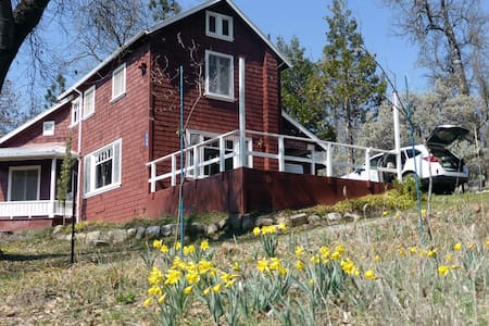 Spacious Peaceful &Private Hot Springs House&Cabin