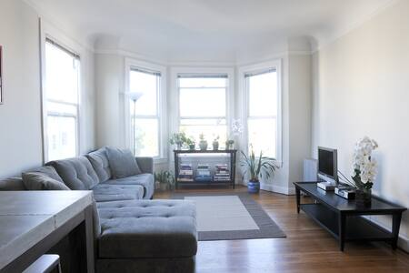 Sunny 1 bd. in SF Marina District