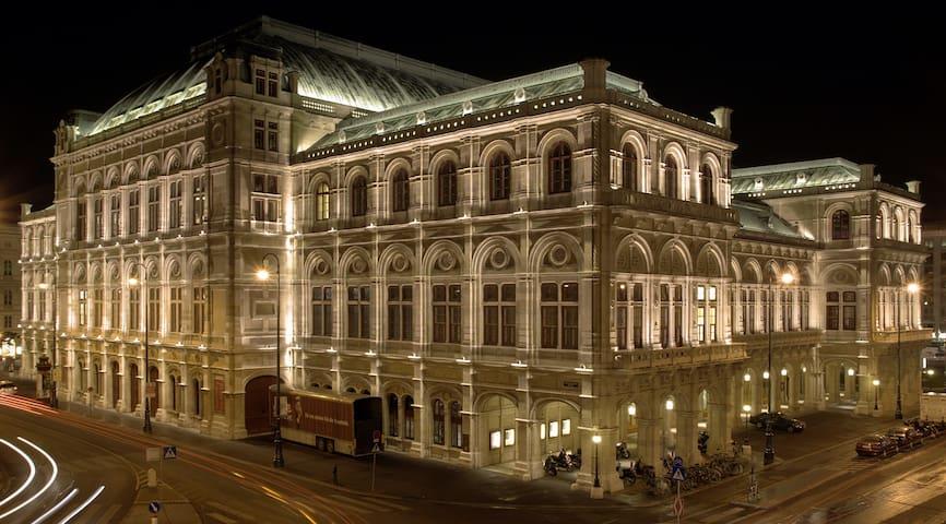 Luxury Opera 100m2!Kärtnerstrasse55 - Wien - House