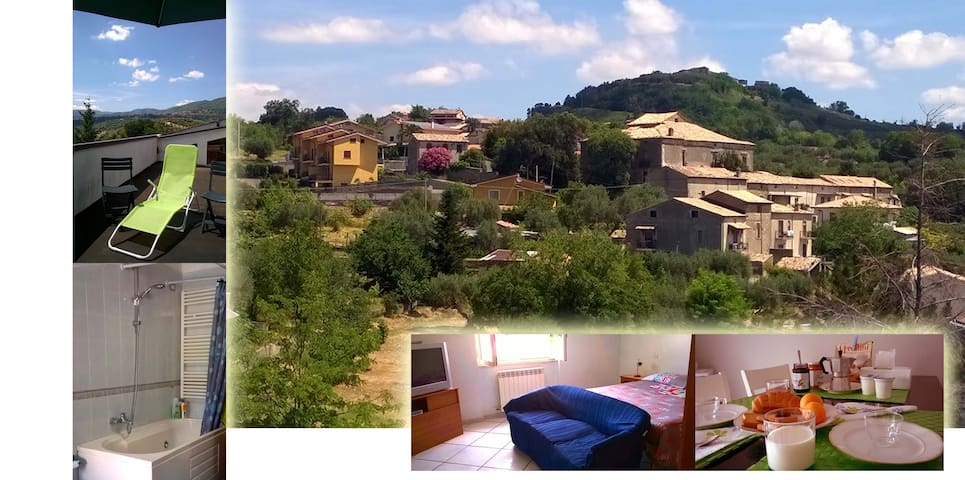 nature and relaxation in the hills - Marano Principato