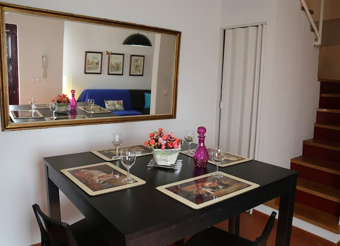 Apartment, two bedrooms, on historical center