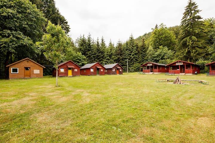 Holzhütte im Thüringer Wald (groß) - Schalkau - Cabaña