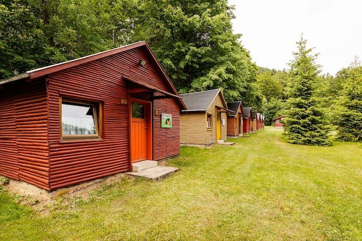 Holzhaus im Thüringer Wald (3 Räume) - Schalkau - Kabin
