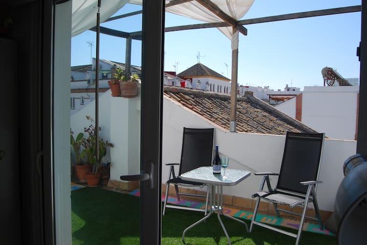 Casa en 1º planta con terraza en 2º - Sevilla - House