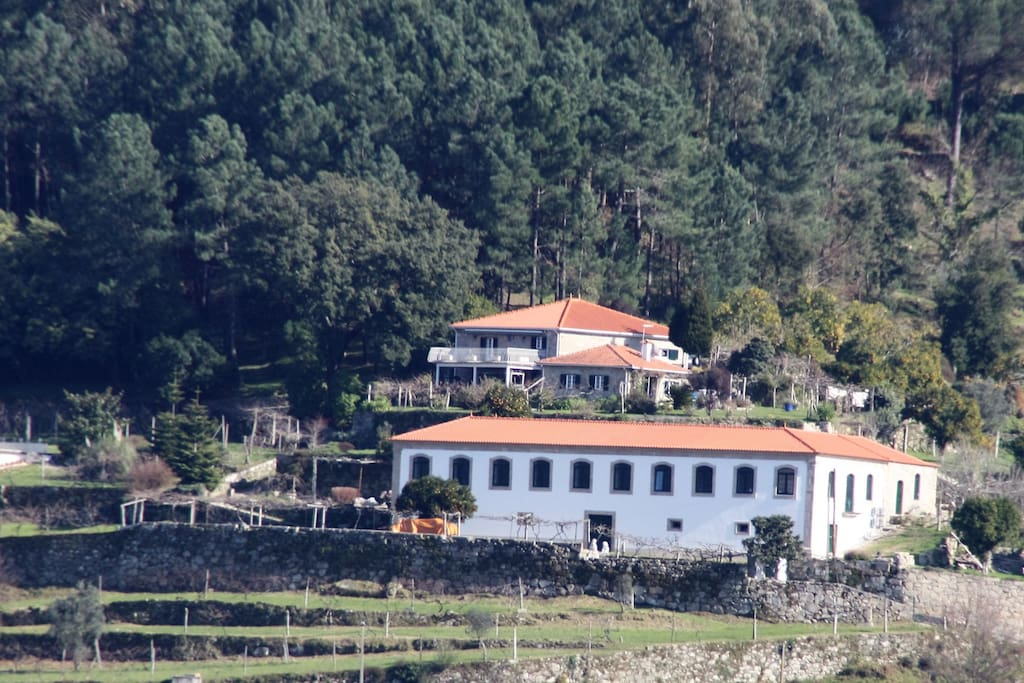 Quinta da Vila from the other side of the river Douro