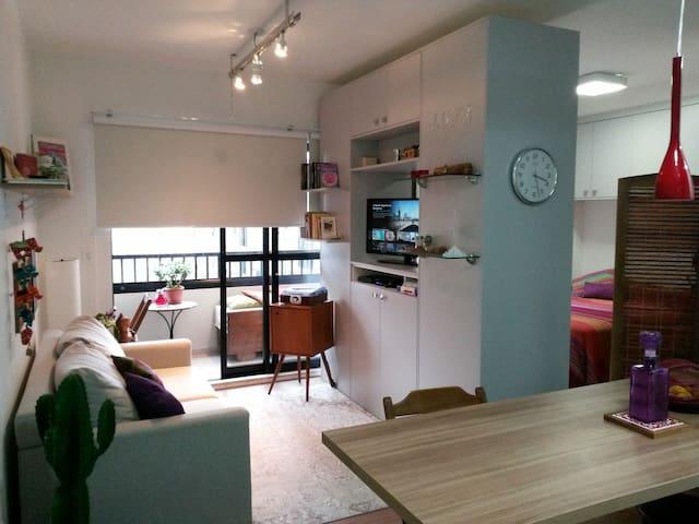 Cozy studio in Curitiba dowtown