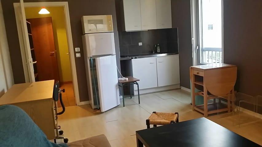 Studio centre de Valence park privé - Valence - Appartement