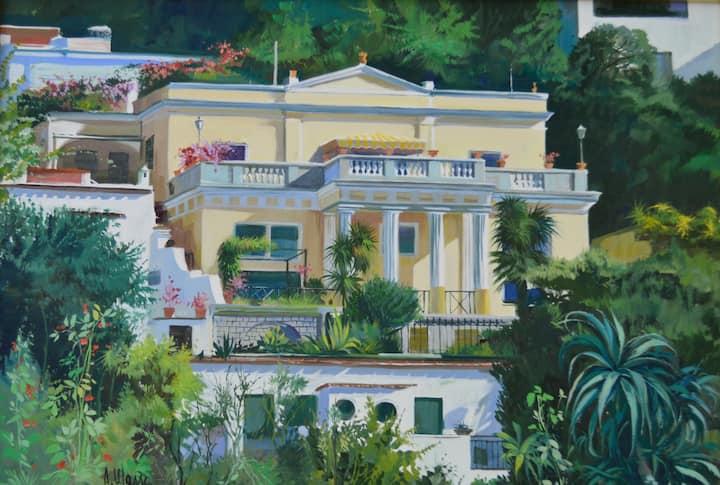 Villa Quattro Colonne, Capri